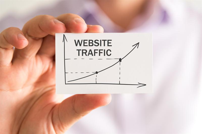 improve website traffic marketing