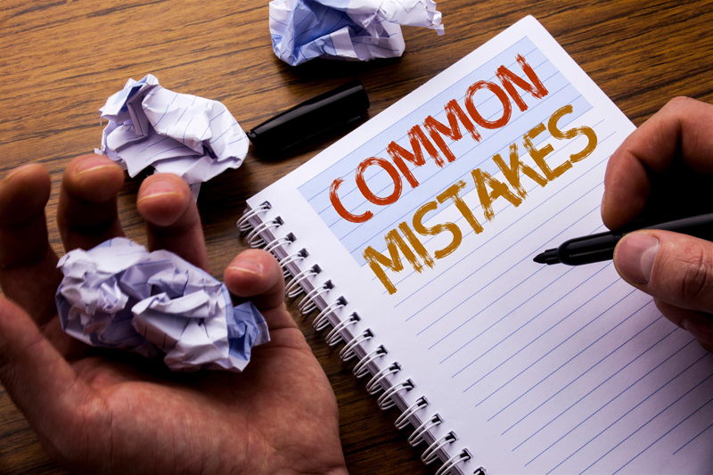 top mistakes marketing