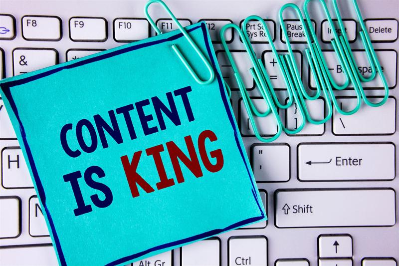 website media content