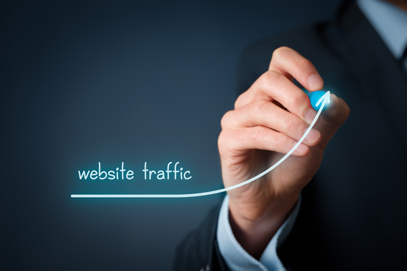 website traffic to conversion