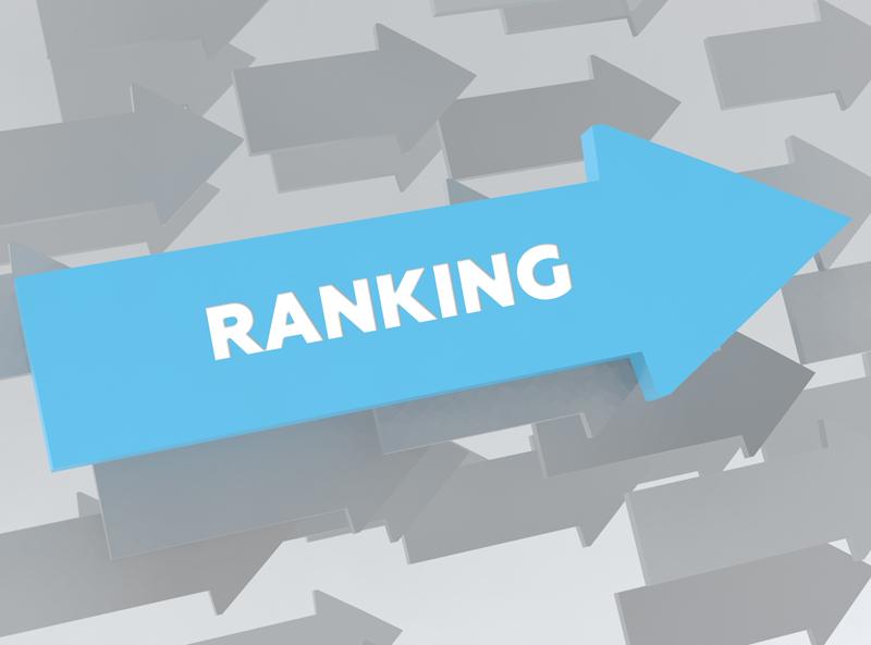 website rankings drop