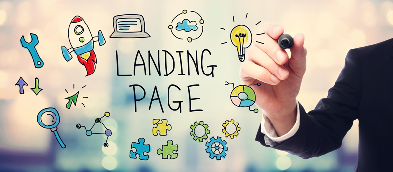 landing page technique marketing